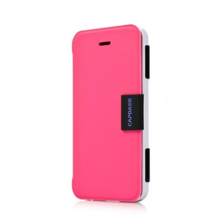 Пластиковый чехол Capdase KJ Sider Elli для Apple iPhone 5C - розовый