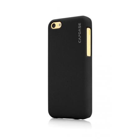 Пластиковый чехол Capdase KJ Touch для Apple iPhone 5C - черный