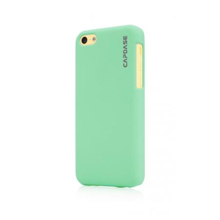 Пластиковый чехол Capdase KJ Touch для Apple iPhone 5C - зеленый