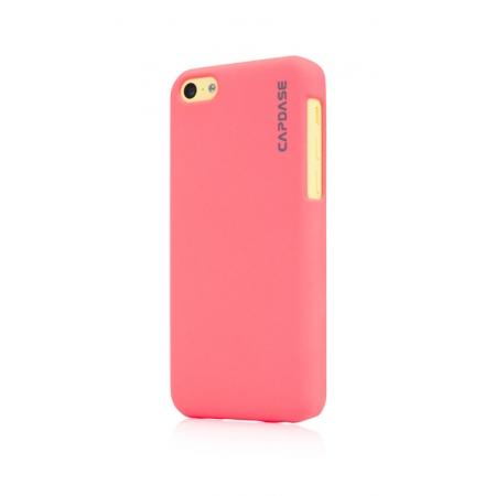Пластиковый чехол Capdase KJ Touch для Apple iPhone 5C - розовый