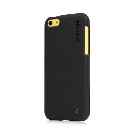 Силиконовый чехол Capdase SJ Xpose для Apple iPhone 5C - черный