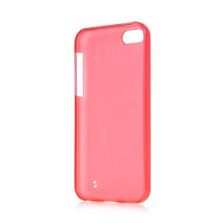 Силиконовый чехол Capdase SJ Xpose для Apple iPhone 5C - розовый