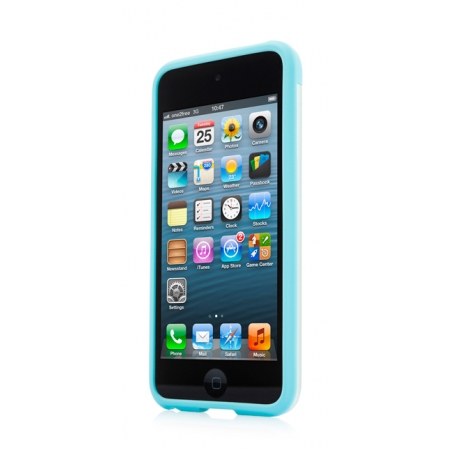 Металлический чехол CAPDASE Alumor Jacket для Apple iPod Touch 5 - голубой