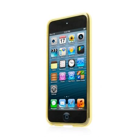 Силиконовый чехол CAPDASE Soft Jacket Xpose для Apple iPod Touch 5 - желтый