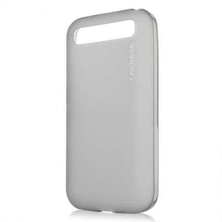 Силиконовый чехол Capdase Soft Jacket Xpose для Blackberry Classic Q20 - серый