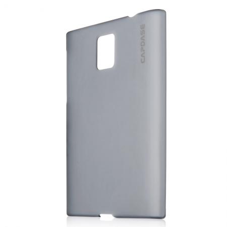 Пластиковый чехол Capdase Karapace Jacket Finne DS для BlackBerry Passport - серый