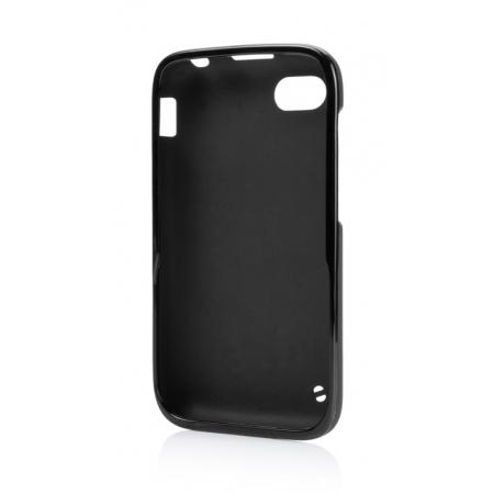Силиконовый чехол Capdase Soft Jacket для Blackberry Q5 - черный