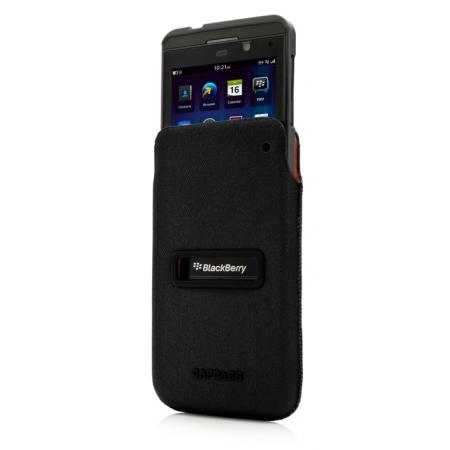Комплект чехлов CAPDASE для Blackberry Z10 id Pocket Value Set POSH XL - черный
