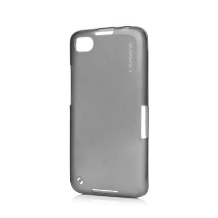 Силиконовый TPU чехол Capdase Soft Jacket Lamina для Blackberry Z30 - серый