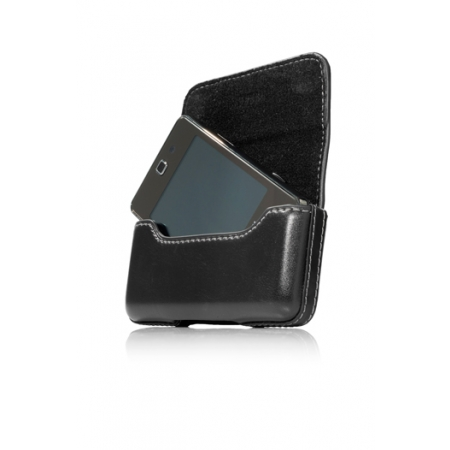 Чехол-сумочка поясной CAPDASE Klip Holster 100A размер 100 x 51 x 17 мм - чёрный