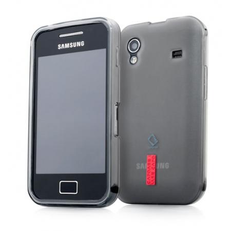 Силиконовый чехол Capdase Soft Jacket 2 Xpose для Samsung Galaxy Ace S5830 темно-серый
