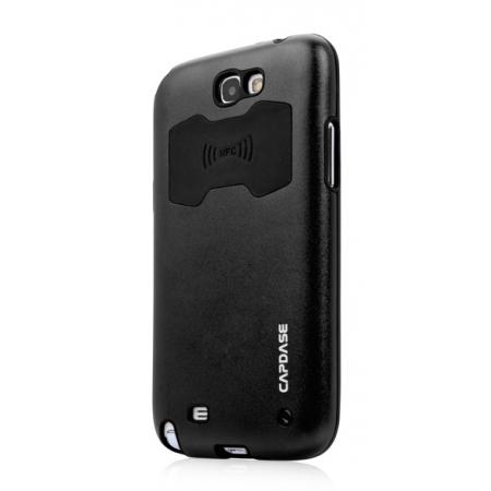 Металлический чехол CAPDASE Alumor Jacket для Samsung Galaxy Note GT-N7000 / Note LTE GT-N7005 - черный