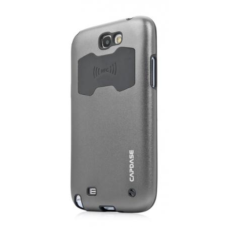 Металлический чехол CAPDASE Alumor Jacket для Samsung Galaxy Note GT-N7000 / Note LTE GT-N7005 - серый