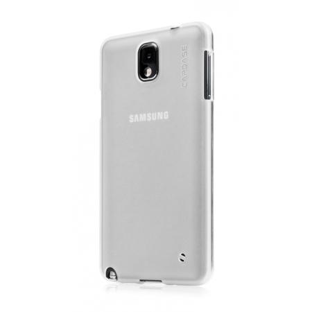 Силиконовый чехол Capdase Soft Jacket Xpose для Samsung Galaxy Note 3 SM-N900 - белый