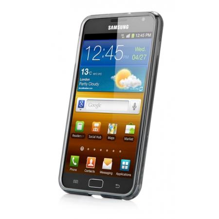 Силиконовый чехол Capdase Soft Jacket для Samsung Galaxy Note GT-N7000 / Note LTE GT-N7005 - чёрный