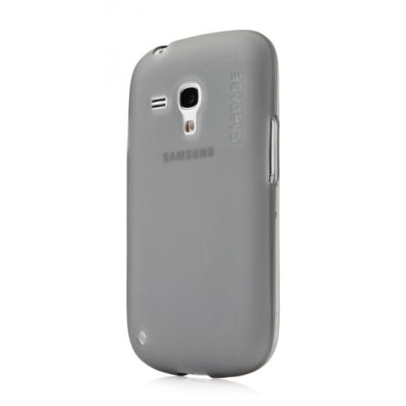 Силиконовый чехол CAPDASE Soft Jacket Xpose for Samsung Galaxy S3 Mini GT-I8190 - серый