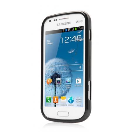 Силиконовый чехол CAPDASE Soft Jacket Xpose для Samsung Galaxy S Duos S7562 - черный