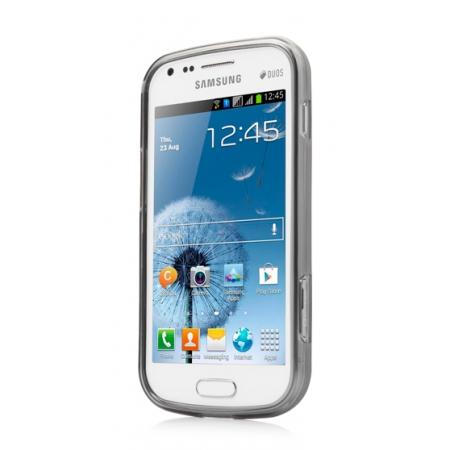 Силиконовый чехол CAPDASE Soft Jacket Xpose для Samsung Galaxy S Duos S7562 - серый