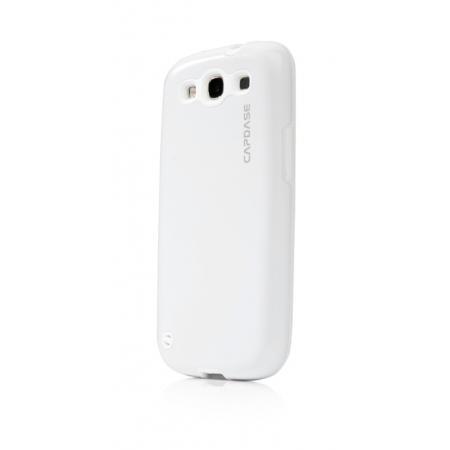 Металлический чехол CAPDASE Alumor Jacket для Samsung Galaxy SIII GT-I9300 - белый
