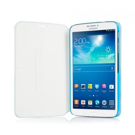 """Чехол CAPDASE Folder Case Sider Baco для Samsung Galaxy Tab 3 8.0"""" T3100 / T3110 - голубой"""