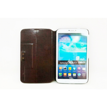 "Чехол CAPDASE Folder Case Flipjacket для Samsung Galaxy Tab 3 8.0"" T3100 / T3110 - коричневый"