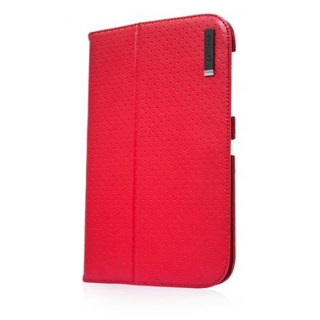 "Чехол CAPDASE Protective Case Folio Dot для Samsung Galaxy Tab 7.0"" Plus / P6210 / P6200 - красный"