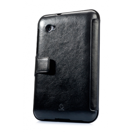 """Кожаный чехол CAPDASE Capparel Case для Samsung Galaxy Tab 7.0"""" Plus / P6210 / P6200 - чёрный"""