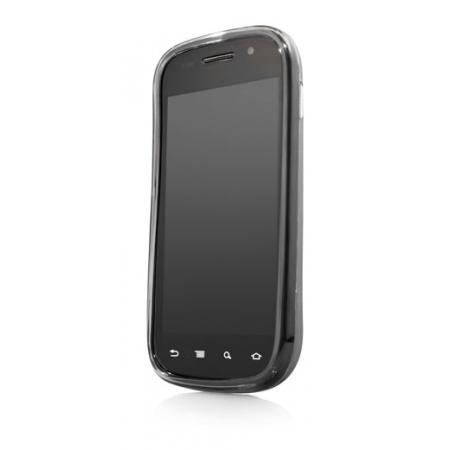 Силиконовый чехол CAPDASE Soft Jacket 2 Xpose для Samsung Nexus S темно - серый