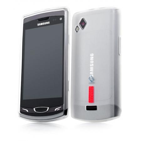 Силиконовый чехол CAPDASE Soft Jacket 2 Xpose для Samsung Wave II GT-S8530 - белый