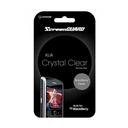 Глянцевая защитная плёнка CAPDASE Klia для Blackberry Classic