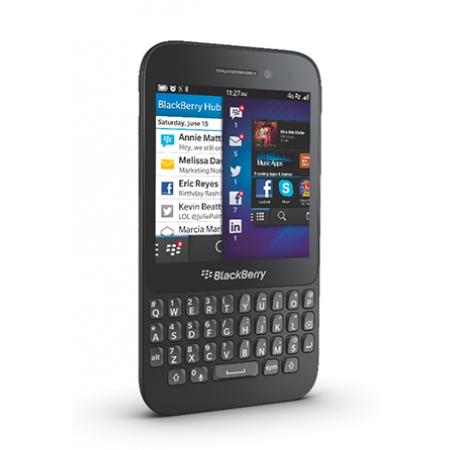 Износостойкая глянцевая защитная плёнка CAPDASE KLIA для Blackberry Q5