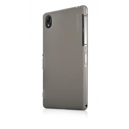 Силиконовый чехол Capdase Soft Jacket Xpose для Sony Xperia Z2 / D6503 / L50w - серый