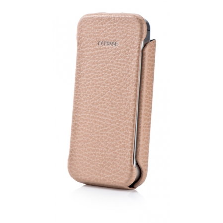 Кожаный чехол CAPDASE Capparel Case для APPLE iPhone 4 / 4S ROYAL - цвет хаки