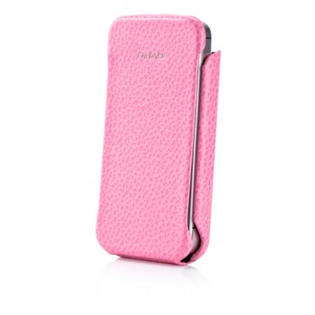 Кожаный чехол CAPDASE Capparel Case для APPLE iPhone 4 / 4S ROYAL - розовый