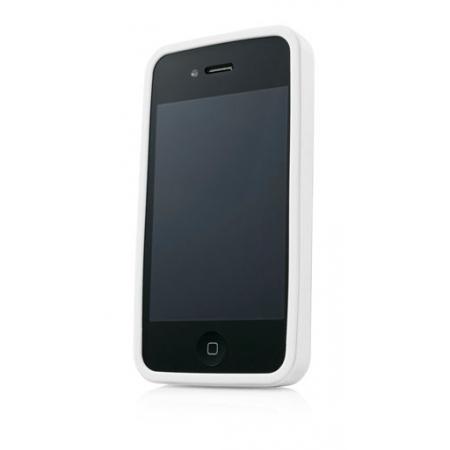 Металлический чехол CAPDASE Alumor Jacket для Apple iPhone 4/4S - белый