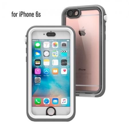 """Водонепроницаемый противоударный чехол Catalyst для iPhone 6/6S (4.7"""") - бело-серый"""