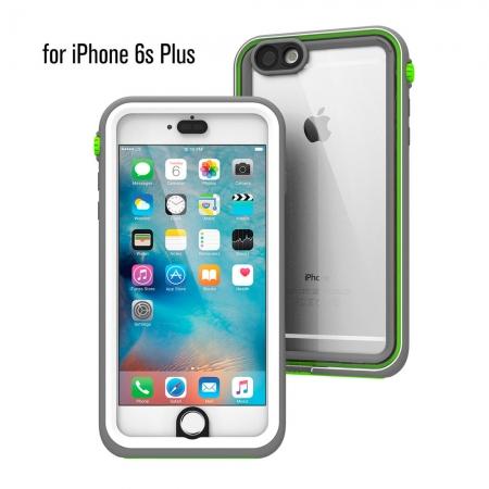 """Водонепроницаемый противоударный чехол Catalyst для iPhone 6/6S Plus (5.5"""") серо-зеленый"""