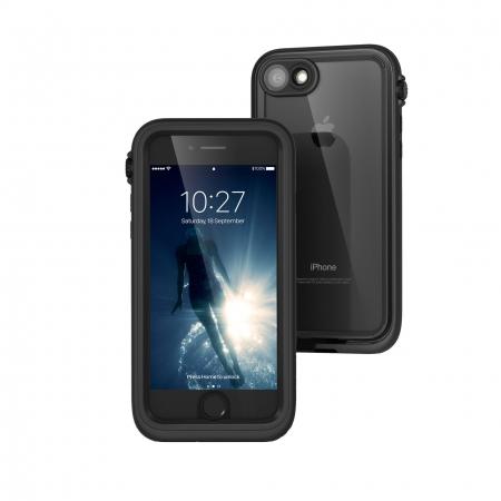 Водонепроницаемый противоударный чехол Catalyst Case для iPhone 8/7 чёрный