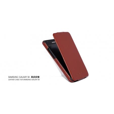 Чехол HOCO для Samsung I9100 Galaxy S II / Galaxy S2 Plus GT-I9105 - коричневый