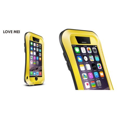 "Противоударный, влагозащищенный чехол LOVE MEI POWERFUL small waist для Apple iPhone 6/6S (4.7"") - желтый"