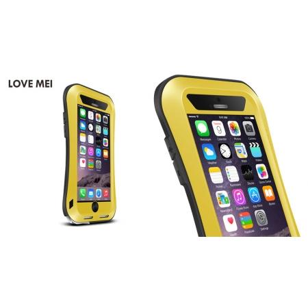 "Противоударный, влагозащищенный чехол LOVE MEI POWERFUL small waist для Apple iPhone 6/6S Plus (5.5"") - желтый"