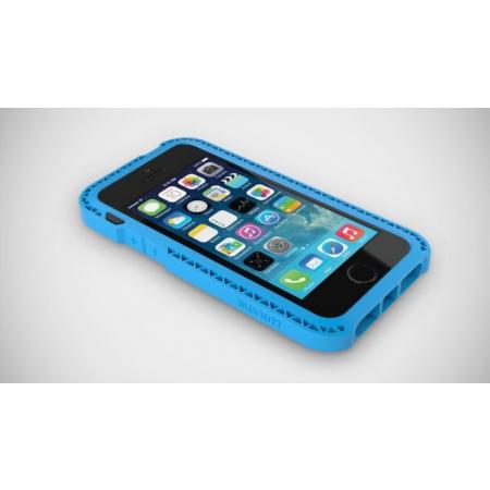 Противоударный чехол LUNATIK Seismik для Apple iPhone 5/5S / iPhone SE - голубой