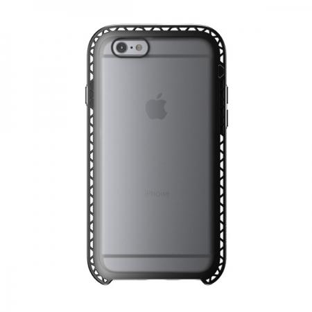 """Противоударный чехол LUNATIK Seismik для Apple iPhone 6/6S (4.7"""") - черный прозрачный"""