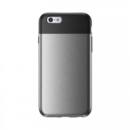 """Противоударный чехол LUNATIK Flak для Apple iPhone 6/6S (4.7"""") - серебристо-черный"""