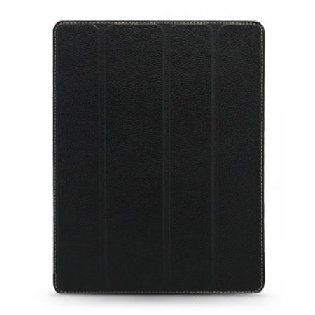 Кожаный чехол Melkco для Apple iPad 2 - Slimme Cover Type with sleep mode function - черный