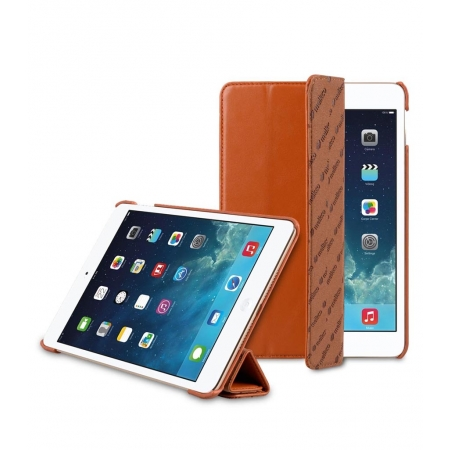 "Кожаный чехол Melkco для Apple iPAd Air 2 9.7"" - Slimme Cover Type (Classic Vintage Brown) - коричневый"