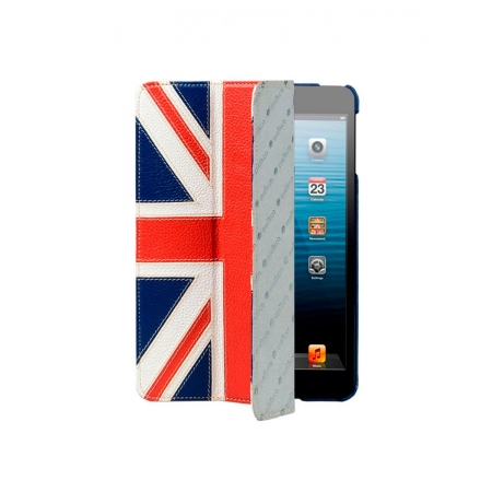 Кожаный чехол Melkco для Apple iPad Mini / Apple iPad Mini с дисплеем Retina - Slimme Cover Type - Флаг Великобритании