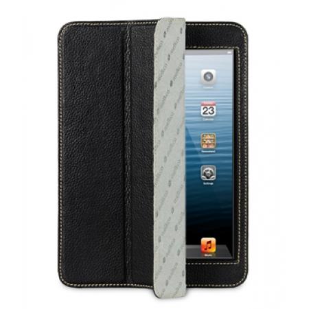 Кожаный чехол Melkco для Apple iPad Mini / Apple iPad Mini с дисплеем Retina - Slimme Cover Type Ver.6 - чёрный