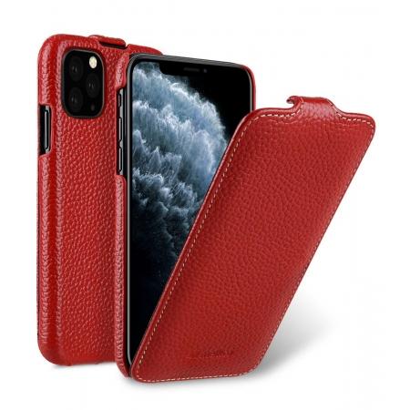 Кожаный чехол флип Melkco для Apple iPhone 11 Pro Max - Jacka Type - красный