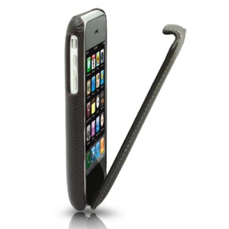 Кожаный чехол Melkco для Apple iPhone 3GS/3G - Jacka Type - коричневый